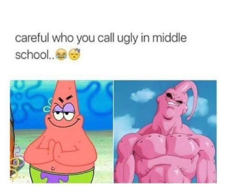 Patrick Majinbuu meme