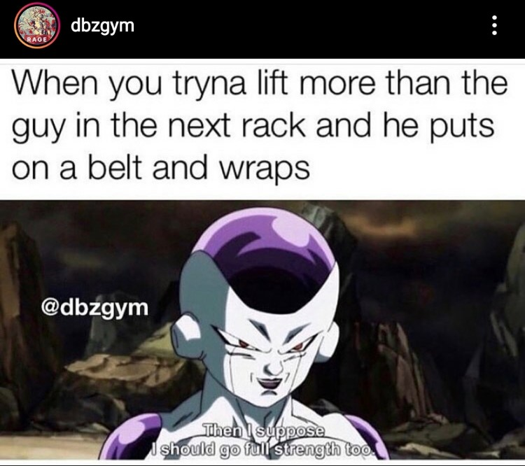 Freiza full strength meme