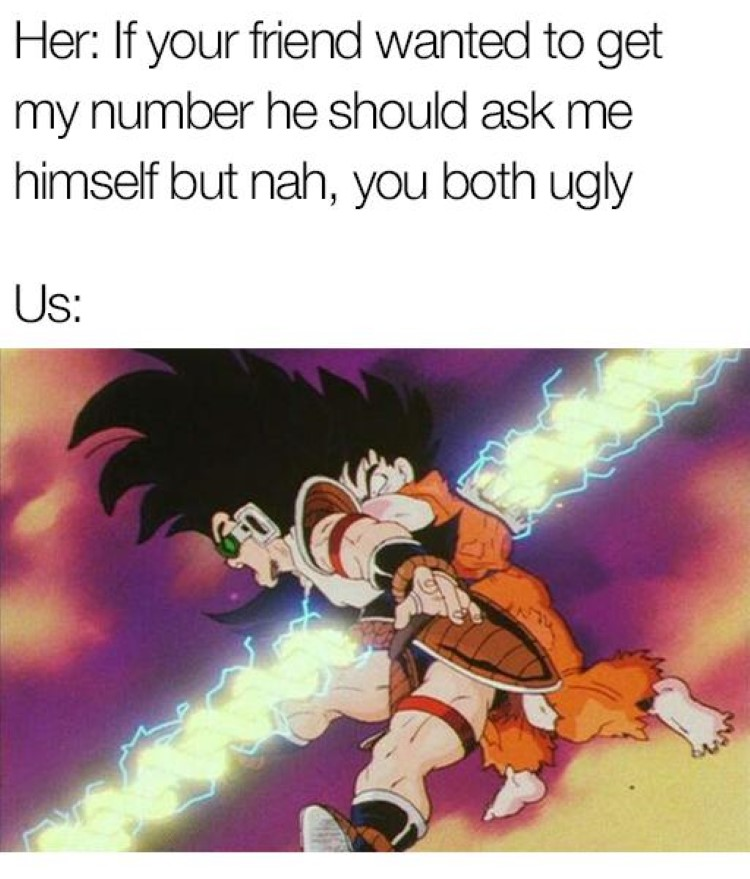 Friend battle goku