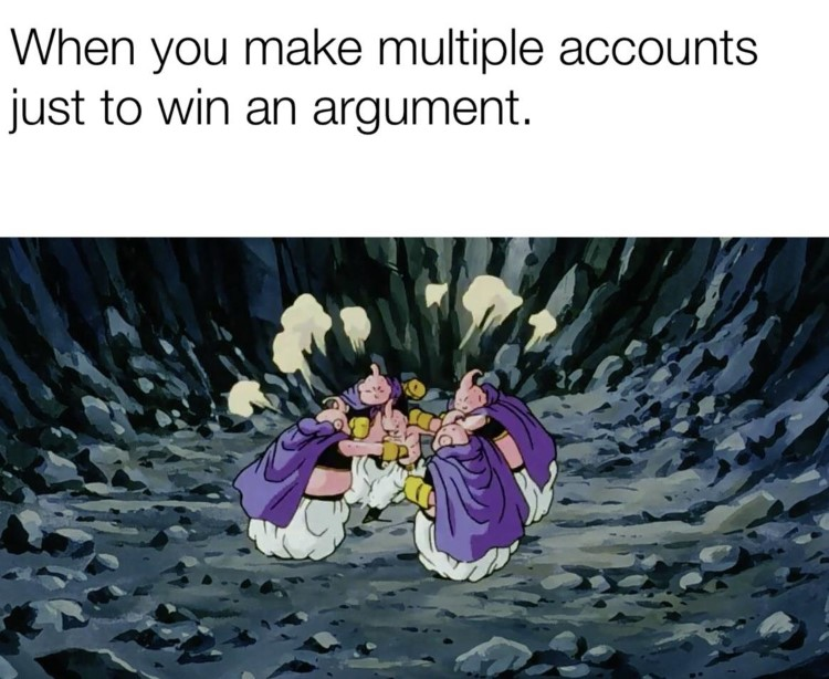 Majin buu fighting argument