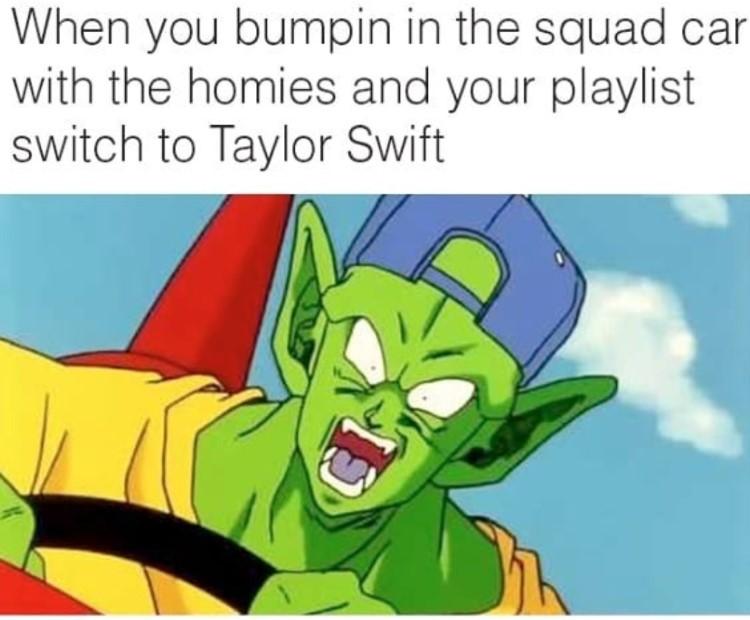 Piccolo bumpin music meme