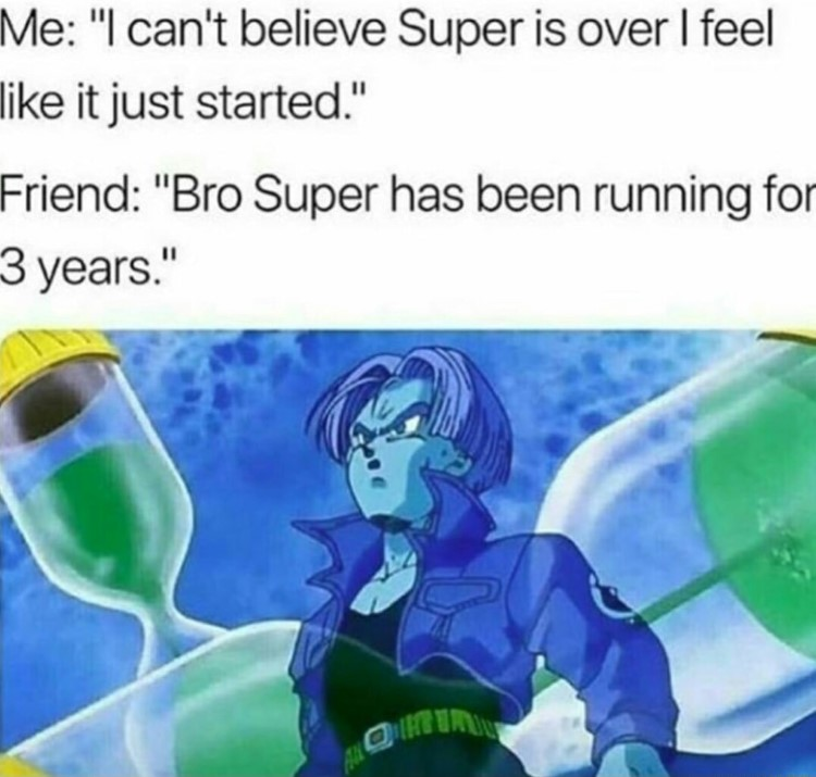 Trunks cant be time meme