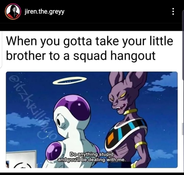 Freiza purple cat meme