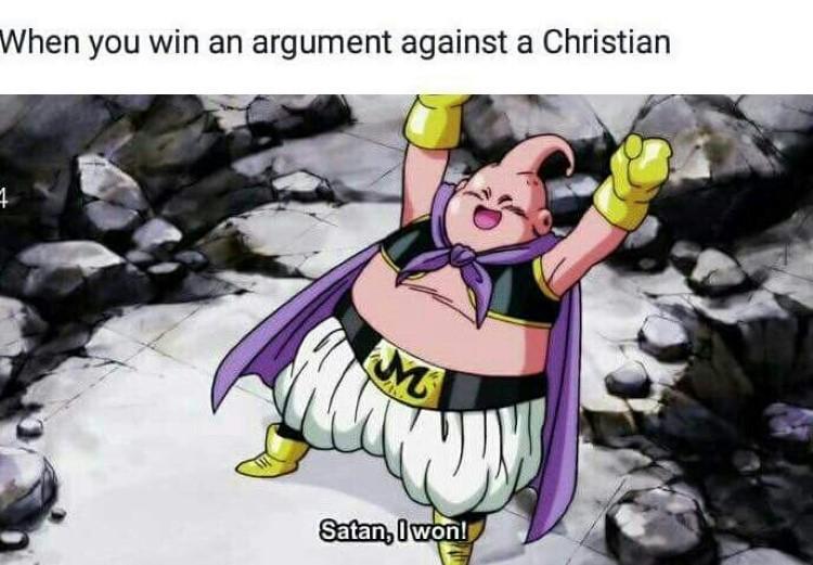 Satan I won funny dbz