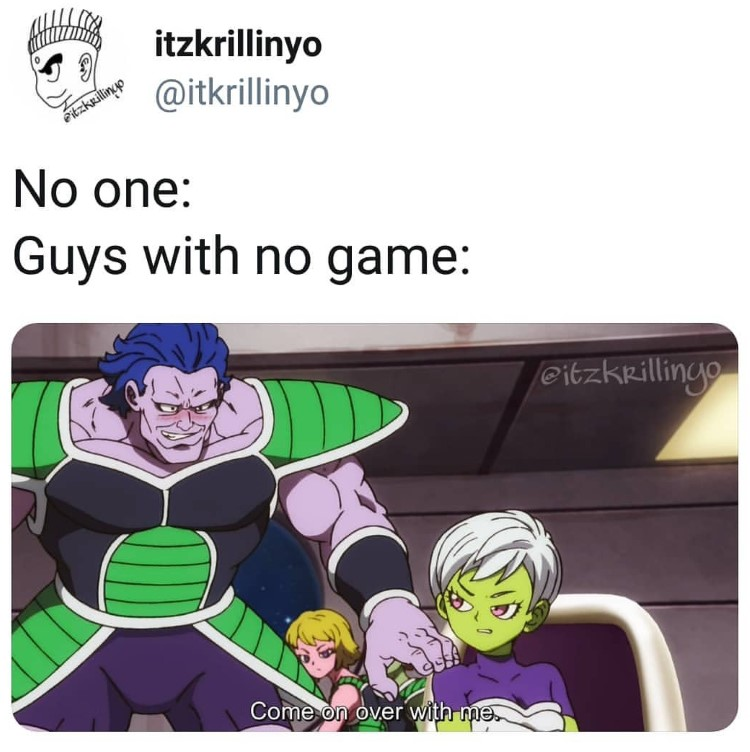 Guys with no game dbz