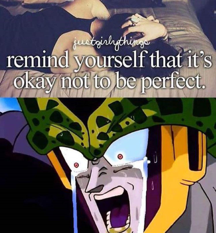 cell is not perfect meme