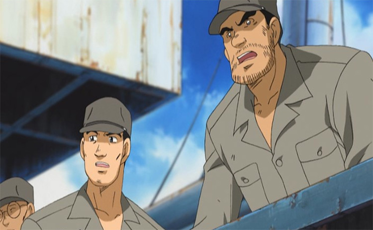 Zipang anime screenshot