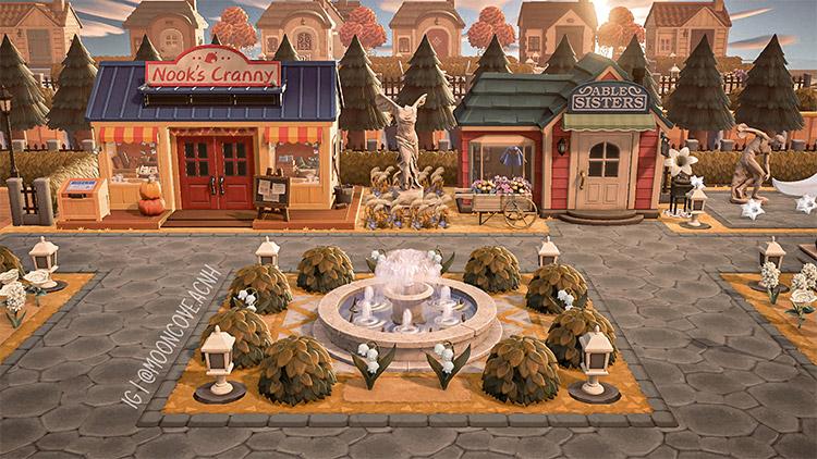 Shopping Plaza Idea for New Horizons