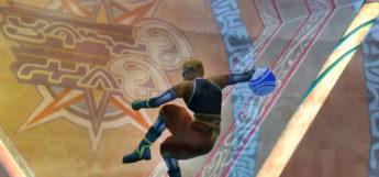 Nimrook as a Blitzball Goalie / FFX HD Screenshot