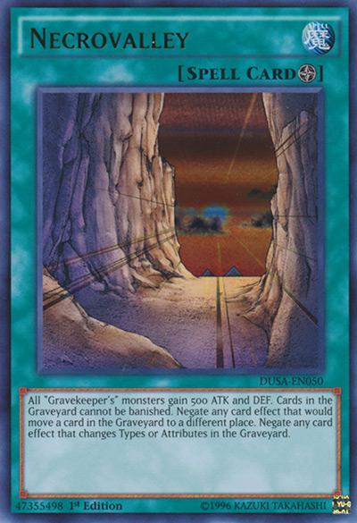 Necrovalley YGO Card
