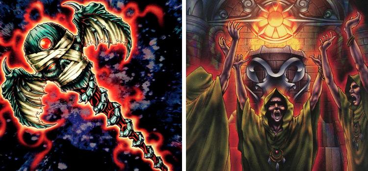 Archfiends Staff Despair & Mage Power Cards