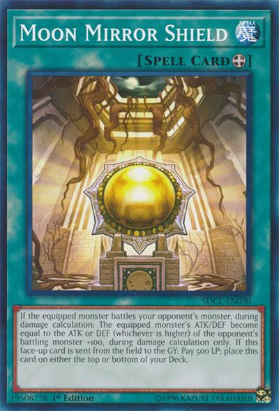 Moon Mirror Shield YGO Card