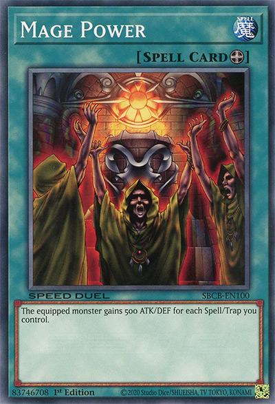 Mage Power Yu-Gi-Oh Card