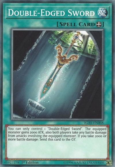 Double-Edged Sword YGO Card