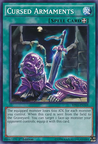 Cursed Armaments Yu-Gi-Oh Card