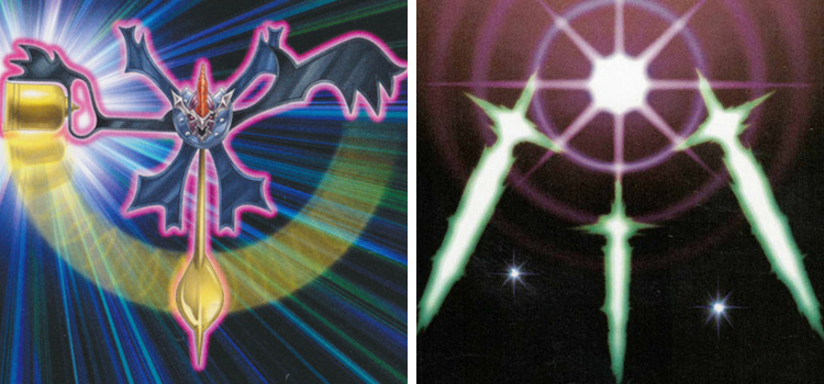 YGO Stalls / Battle Fader and Swords of Revealing Light