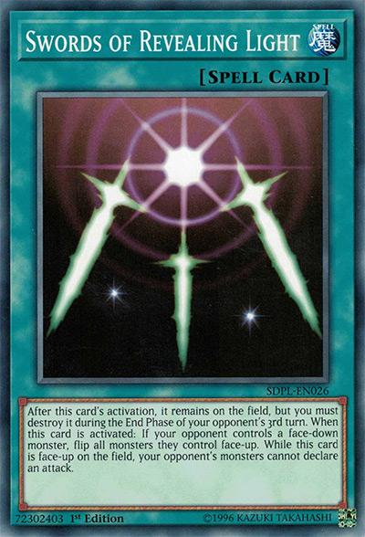 Swords of Revealing Light Yu-Gi-Oh Card