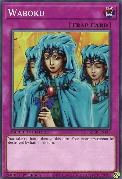 Waboku Yu-Gi-Oh Card