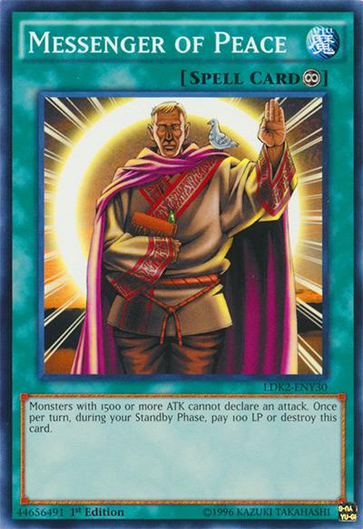 Messenger of Peace Yu-Gi-Oh Card
