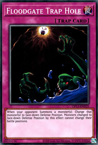 Floodgate Trap Hole YGO Card