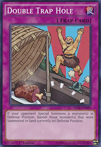 Double Trap Hole Yu-Gi-Oh Card