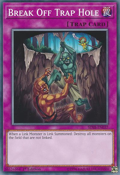 Break Off Trap Hole YGO Card