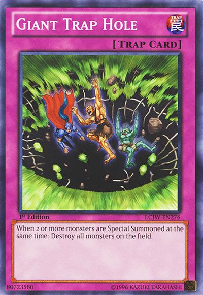 Giant Trap Hole Yu-Gi-Oh Card
