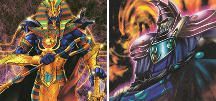 Spirit of Pharaoh & Dark Sage YGO