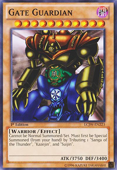 Gate Guardian YGO Card