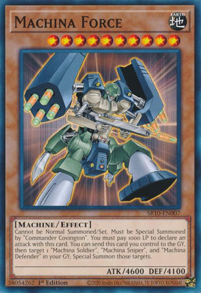 Machina Force Yu-Gi-Oh Card