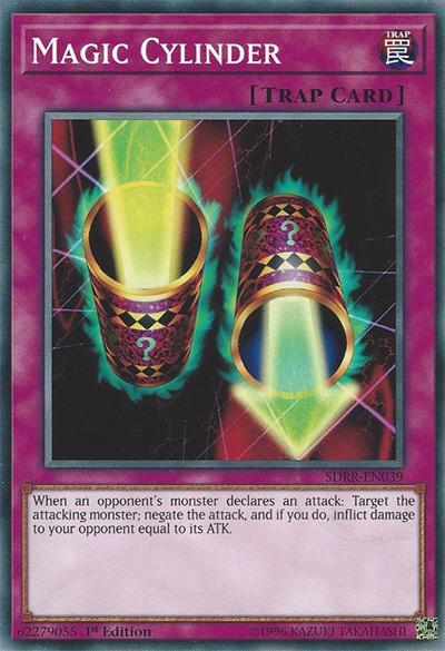 Magic Cylinder Yu-Gi-Oh Card