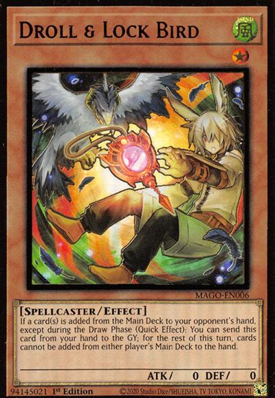 Droll & Lock Bird Yu-Gi-Oh Card