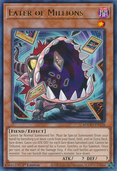Eater of Millions Yu-Gi-Oh Card