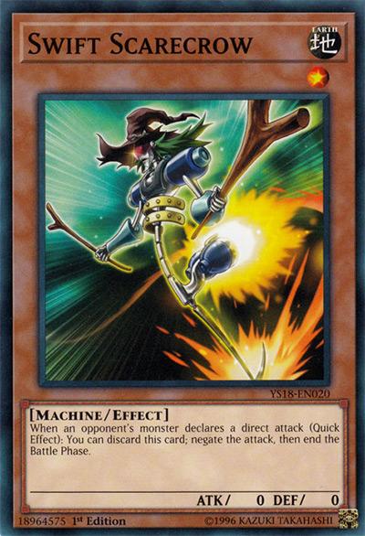 Swift Scarecrow Yu-Gi-Oh Card