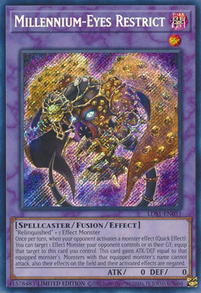 Millennium Eyes Restrict YGO Card