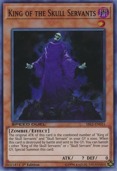 King of the Skull Servants YGO Card