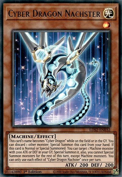 Cyber Dragon Nachster YGO Card