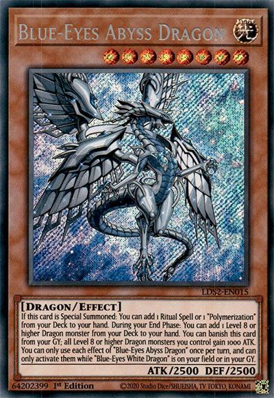 Blue-Eyes Abyss Dragon YGO Card