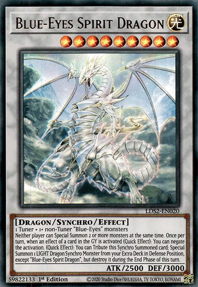 Blue-Eyes Spirit Dragon Yu-Gi-Oh Card