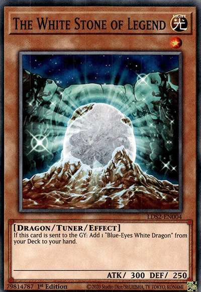 White Stone Of Legend YGO Card