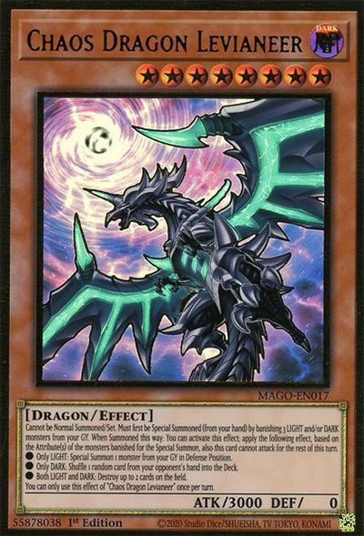 Chaos Dragon Levianeer YGO Card