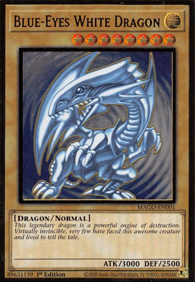 Blue-Eyes White Dragon Yu-Gi-Oh Card