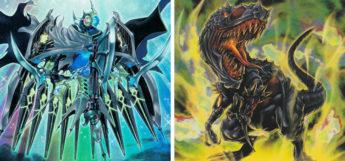 YGO Mekk Knight and Black Tyranno