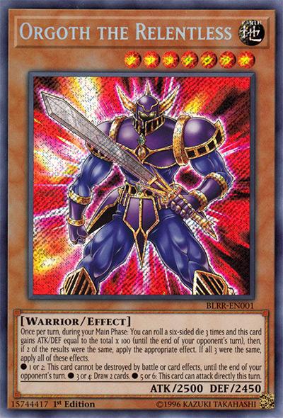Orgoth the Relentless YGO Card