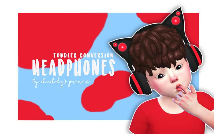 Toddler Conversion Headphones TS4 CC