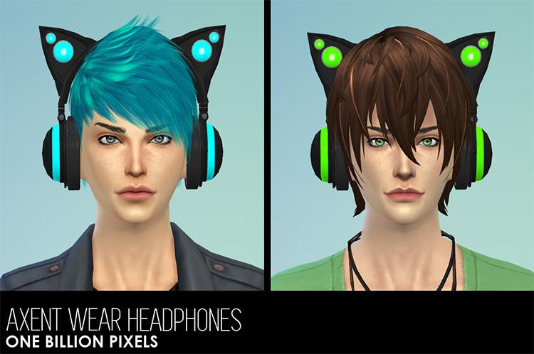 Axent Wear Headphone Sims 4 CC