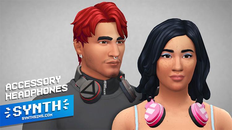 Accessory Headphones Sims 4 CC