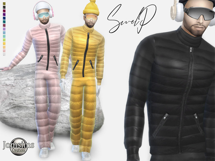 Male Snow Outfit Sims 4 CC