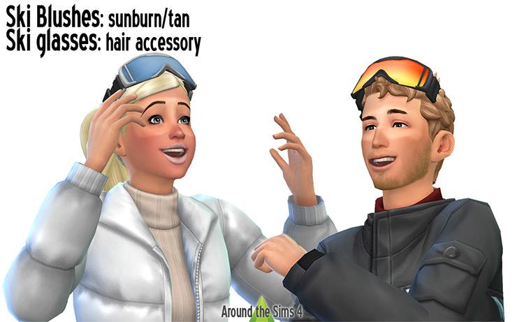Ski Blushes & Glasses TS4 CC