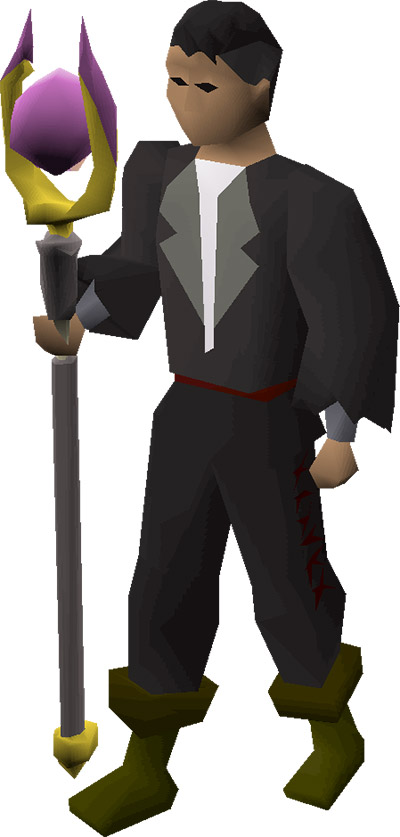Dawnbringer OSRS Equipped Preview